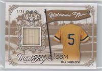 Bill Madlock #/25