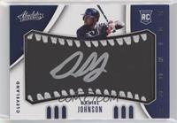 Rookie Baseball Material Signatures - Daniel Johnson #/99