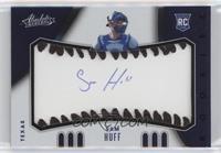 Rookie Baseball Material Signatures - Sam Huff #/60