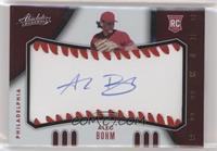 Rookie Baseball Material Signatures - Alec Bohm #/99