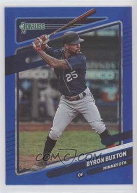 2021 Panini Donruss - [Base] - Holo Blue #136 - Byron Buxton