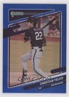 Christian Yelich (First Line of Bio Ends