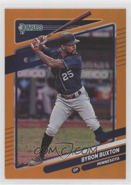 2021 Panini Donruss - [Base] - Holo Orange #136 - Byron Buxton