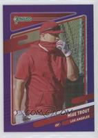 Variation - Mike Trout (Standing by Batting Cage)