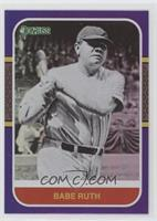 Retro 1987 Variation - Babe Ruth (First Line of Bio Ends