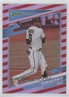 Starling Marte (Space between ARI/MIA on Stat Line) #/2,021