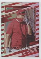 Variation - Mike Trout (Standing by Batting Cage) #/2,021