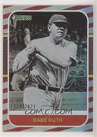Retro 1987 - Babe Ruth (First Line of Bio Ends