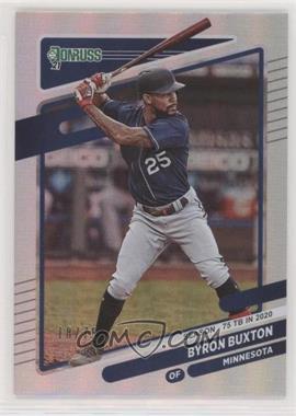 2021 Panini Donruss - [Base] - Season Stat Line #136 - Byron Buxton /75