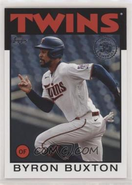 2021 Topps - 1986 Topps Baseball 35th Anniversary Series 2 #86B-15 - Byron Buxton