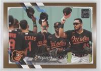 Baltimore Orioles #/2,021