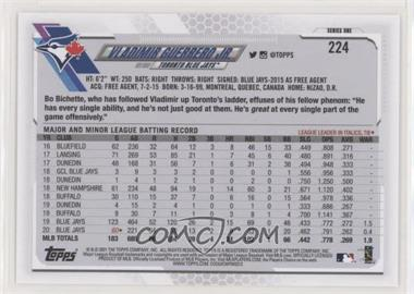 2021 Topps - [Base] #224.1 - Vladimir Guerrero Jr. (White Jersey, Rounding 3rd) - Courtesy of COMC.com