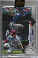 Dansby Swanson (2020 Topps) [BuyBack] #/29