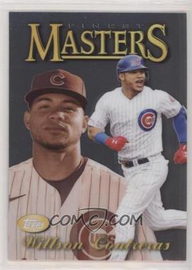2021 Topps Finest - 1997 Topps Finest Masters #97FM-WC - Willson Contreras - Courtesy of COMC.com
