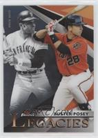 Buster Posey, Willie Mays