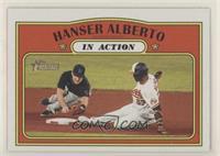 In Action - Hanser Alberto