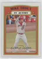 In Action - Mike Trout