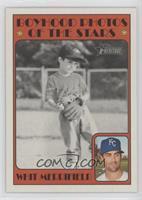 Boyhood Photos of the Stars - Whit Merrifield