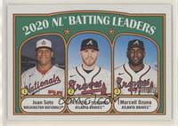 League Leaders - Juan Soto, Marcell Ozuna, Freddie Freeman