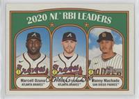 League Leaders - Manny Machado, Marcell Ozuna, Freddie Freeman
