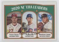 League Leaders - Dinelson Lamet, Yu Darvish, Trevor Bauer
