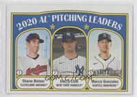 League Leaders - Gerrit Cole, Marco Gonzales, Shane Bieber
