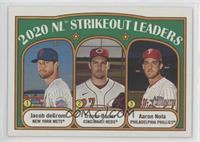 League Leaders - Aaron Nola, Jacob deGrom, Trevor Bauer