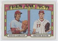 Trevor Bauer, Steve Carlton