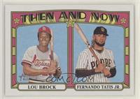 Fernando Tatis Jr., Lou Brock