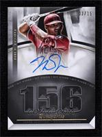 Mike Trout #/15