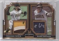 Fernando Tatis Jr., Manny Machado #/35