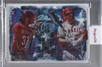 Jesse Winker, Mike Trout (Chuck Styles) [Uncirculated] #/1,970