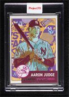 Aaron Judge (Morning Breath) [Uncirculated] #/51
