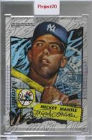 Mickey Mantle (Tyson Beck) [Uncirculated] #/6,656