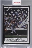 Mickey Mantle (Joshua Vides) [Uncirculated] #/9,298