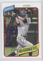 1980 Topps Baseball Design - Ichiro Suzuki #/1,503