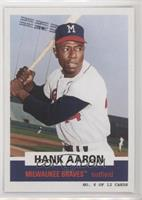 1961 Topps Bazooka Panels Design - Hank Aaron #/2,891