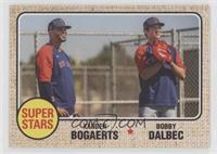 1968 Topps Baseball Design - Xander Bogaerts, Bobby Dalbec #/944