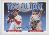 1993 Topps All Stars Baseball Design - Shohei Ohtani, Jacob deGrom #/1,337