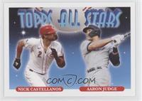 1993 Topps All Stars Baseball Design - Nick Castellanos, Aaron Judge #/747