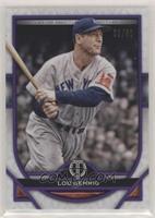 Lou Gehrig #/50