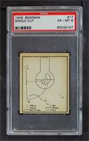 Single Cut Using Post as Screen for Short Shot [PSA 6 EX‑MT]