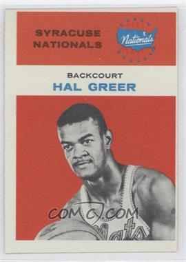 1961-62 Fleer - [Base] #16 - Hal Greer