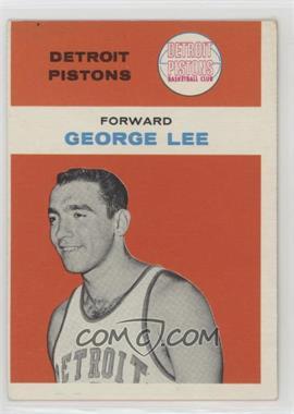 1961-62 Fleer - [Base] #27 - George Lee