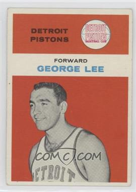 1961-62 Fleer - [Base] #27 - George Lee