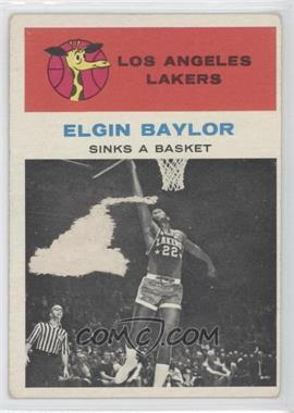 1961-62 Fleer - [Base] #46 - Elgin Baylor [Good to VG‑EX]