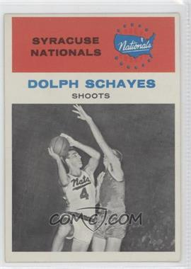 1961-62 Fleer - [Base] #63 - Dolph Schayes