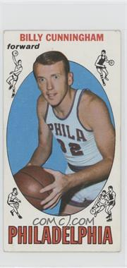 1969-70 Topps - [Base] #40 - Billy Cunningham [Good to VG‑EX]