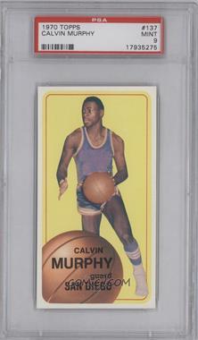 1970-71 Topps - [Base] #137 - Calvin Murphy [PSA9]