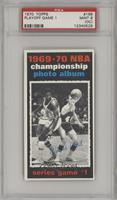 1969-70 NBA Championship (Game 1) [PSA9MINT(OC)]